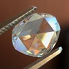 1.00ct Oval Rose Cut Diamond GIA G SI1 5