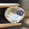 1.00ct Oval Rose Cut Diamond GIA G SI1 14