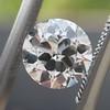 1.01ct Old European Cut Diamond GIA E VVS1 18