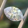 1.02ct Marquise Cut Diamond GIA E VS2 9