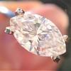 1.02ct Marquise Cut Diamond GIA E VS2 3