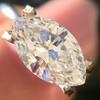 1.02ct Marquise Cut Diamond GIA E VS2 20