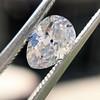 1.03ct Antique Pear Cut Diamond GIA F VS2 22