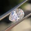 1.03ct Antique Pear Cut Diamond GIA F VS2 12