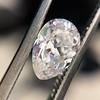 1.03ct Antique Pear Cut Diamond GIA F VS2 9