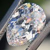 1.03ct Antique Pear Cut Diamond GIA F VS2
