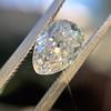 1.03ct Antique Pear Cut Diamond GIA F VS2 17