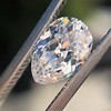 1.03ct Antique Pear Cut Diamond GIA F VS2 2