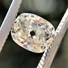 1.03ct Antique Cushion Cut Diamond GIA M SI1 10