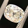 1.03ct Antique Cushion Cut Diamond GIA M SI1 7