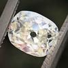 1.03ct Antique Cushion Cut Diamond GIA M SI1 9