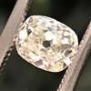 1.03ct Antique Cushion Cut Diamond GIA M SI1 5