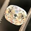 1.03ct Antique Cushion Cut Diamond GIA M SI1 4