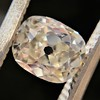 1.03ct Antique Cushion Cut Diamond GIA M SI1 8