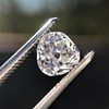 1.03ct Antique Pear/Heart Shape Diamond GIA F VS2 11