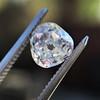 1.03ct Antique Pear/Heart Shape Diamond GIA F VS2 6