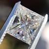 1.04ct Princess Cut Diamond, GIA F VS2 5