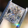 1.04ct Princess Cut Diamond, GIA F VS2 6