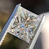 1.04ct Princess Cut Diamond, GIA F VS2 4