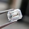 1.05 Emerald Cut Diamond GIA I SI1 4