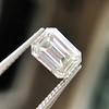 1.05 Emerald Cut Diamond GIA I SI1 10