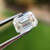 1.05 Emerald Cut Diamond GIA I SI1 6