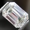 1.05 Emerald Cut Diamond GIA I SI1 0