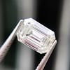 1.05 Emerald Cut Diamond GIA I SI1 15