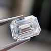 1.05 Emerald Cut Diamond GIA I SI1 7