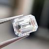 1.05 Emerald Cut Diamond GIA I SI1 5