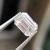 1.05 Emerald Cut Diamond GIA I SI1 13