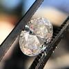 1.05ct Oval Cut Diamond GIA H SI1 6