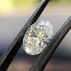 1.05ct Oval Cut Diamond GIA H SI1 12