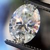 1.05ct Oval Cut Diamond GIA H SI1 1