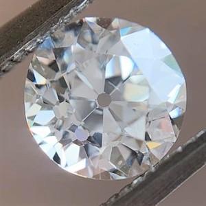 1.07ct Old European Cut Diamond, GIA G SI1