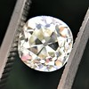 1.08ct Old Mine Cut Diamond GIA M VS2 2