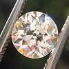 1.10ct Old European Cut Diamond GIA L SI1 0