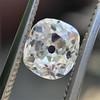 1.12ct Antique Cushion Cut Diamond GIA K SI1 1