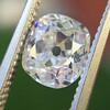 1.12ct Antique Cushion Cut Diamond GIA K SI1 4