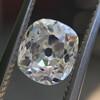 1.12ct Antique Cushion Cut Diamond GIA K SI1 10