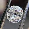 1.12ct Antique Cushion Cut Diamond GIA K SI1 7