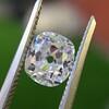 1.12ct Antique Cushion Cut Diamond GIA K SI1 19