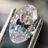 1.16ct Antique Oval/Moval Diamond GIA H VS1