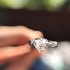 1.17ct Pear Shaped Diamond GIA EVS1 3