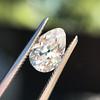 1.17ct Pear Shaped Diamond GIA EVS1 10