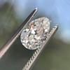 1.17ct Pear Shaped Diamond GIA EVS1 22