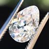 1.17ct Pear Shaped Diamond GIA EVS1 2