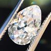 1.17ct Pear Shaped Diamond GIA EVS1 30