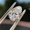 1.17ct Pear Shaped Diamond GIA EVS1 16
