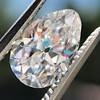 1.17ct Pear Shaped Diamond GIA EVS1 1